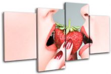 Sexy Strawberry Lips Food Kitchen - 13-2156(00B)-MP04-LO